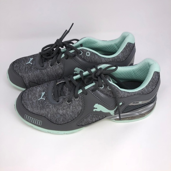 995b2d41197e Puma Women s 10 Cell 1.0 Riaz Running Shoes Gray. M 5bb6a7f0194dadcfd49bf2f8